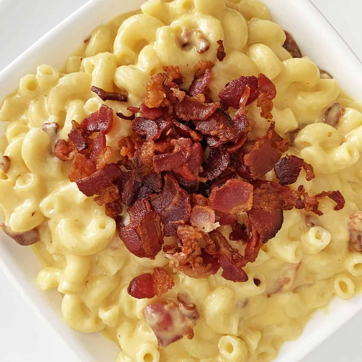 Bacon mac and cheese recipe