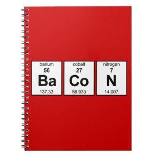 Bacon notebook