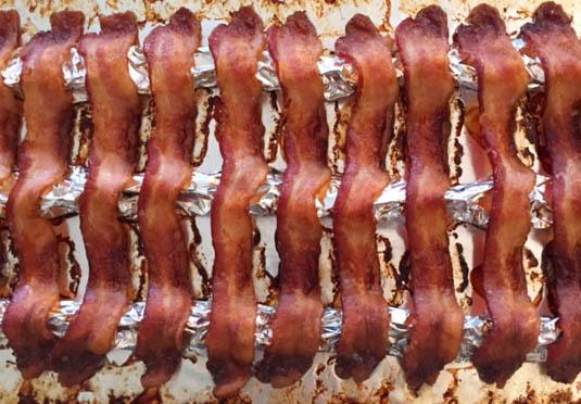 baked bacon | Bensa Bacon Lovers Blog