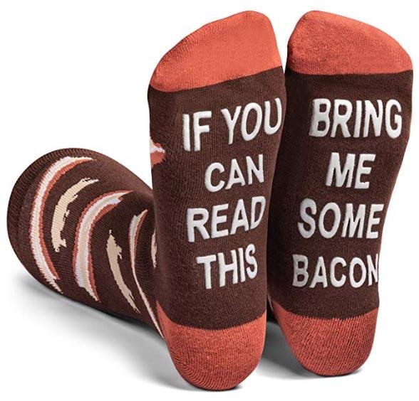 Men's bacon socks