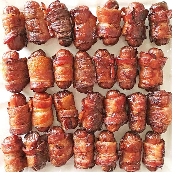 Bacon Wrapped Little Smokies