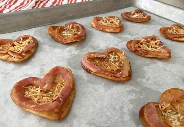 Baked bacon appetizers