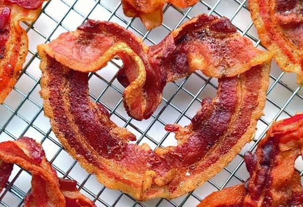 bacon heart healthy