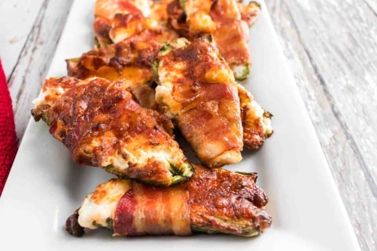 air fried bacon jalapeno poppers